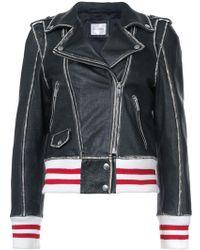 Anine Bing - Quinlan Leather Jacket - Lyst