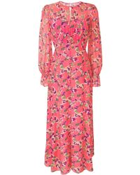 Saloni Becky ドレス - ピンク