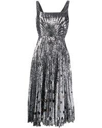 Marco De Vincenzo スパンコール ドレス - メタリック