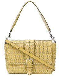 d633e79559a Dolce & Gabbana Camera Shaped Python Shoulder Bag in Red - Lyst