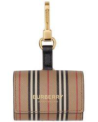 Burberry Icon Stripe Airpod Pro Case - Multicolor