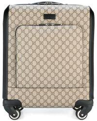 Gucci - GG Supreme Trolley - Lyst