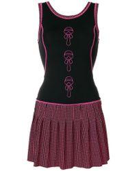 Fendi - Karlito-appliqué Fitted Dress - Lyst