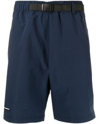 Izzue X Neighborhood Belted Waist Shorts - Blue