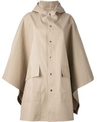 Mackintosh Cape Jacket - Natural