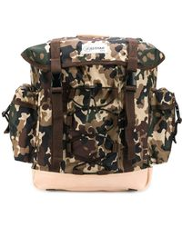 A.P.C. Camouflage Print Backpack - Multicolour