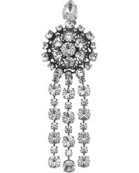 Gucci Crystal Embellished Brooch - マルチカラー