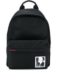 Karl Lagerfeld Karl Legend バックパック - ブラック