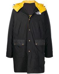 The North Face リバーシブル バイカラーフーデッドコート - ブラック