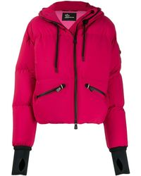 3 MONCLER GRENOBLE Hooded Puffer Jacket - Pink