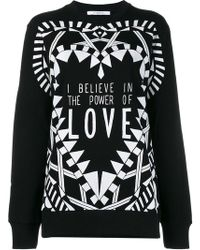 Givenchy - I Believe In The Power Of Love Sweatshirt - Lyst