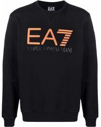 EA7 - ロゴ スウェットシャツ - Lyst