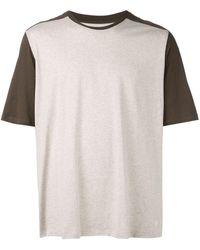 Folk コントラストパネル Tシャツ - マルチカラー
