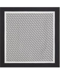 Burberry - モノグラム シルクスカーフ - Lyst