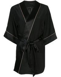 Kiki de Montparnasse Amour Robe - Black