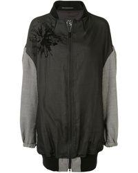Y's Yohji Yamamoto オーバーサイズ ボンバージャケット - ブラック
