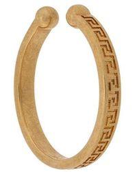 Versace - Greca Earring - Lyst