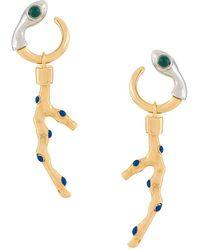 Chloé - Coral Drop Earrings - Lyst