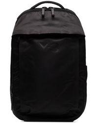 Y-3 Logo Backpack - Black