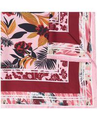 Ports 1961 Платок С Принтом - Розовый