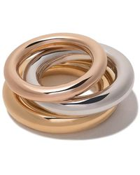 Charlotte Chesnais Brahma Set Ringen - Metallic