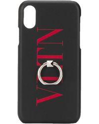 Valentino Garavani Coque diPhone XS Max VLTN à logo imprimé - Multicolore