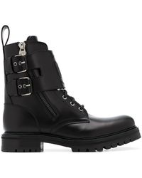 Balmain Phil Military-style Boots - Black