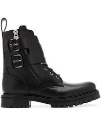 Balmain Phil Military-style Boots - Black