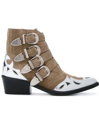 Toga Pulla - Metallic Embellished Boots - Lyst
