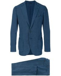 Dell'Oglio - Two Piece Suit - Lyst