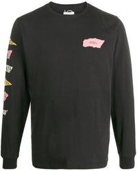 Saturdays NYC ロングスリーブ セーター - ブラック