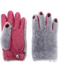 Marni Painted Nail Gloves - Gray