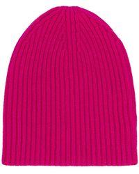 Erika Cavallini Semi Couture - Rib Knit Beanie - Lyst