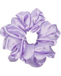 Valet Studio Cyndi Scrunchie - Purple