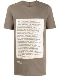 Rick Owens Drkshdw グラフィック Tシャツ - マルチカラー