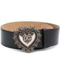Dolce & Gabbana Ceinture Devotion - Noir