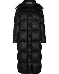 Moncler Parnaiba ロゴ パデッドコート - ブラック