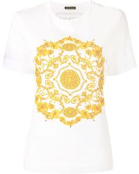 Versace バロックプリント Tシャツ - マルチカラー