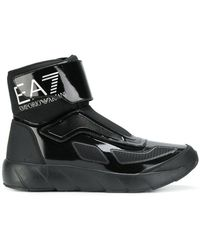 EA7 - Patent Space Boots - Lyst