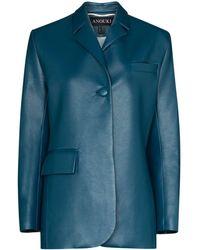 ANOUKI シングルジャケット - ブルー