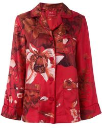 F.R.S For Restless Sleepers - Floral Print Pyjama Blouse - Lyst