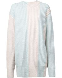 CALVIN KLEIN 205W39NYC Knitted Jumper - Blue