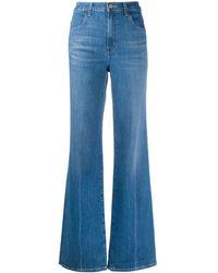 J Brand Faded flared jeans - Blau