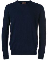 Altea - Round Neck Sweater - Lyst