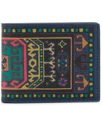Etro - Tapestry Billfold Wallet - Lyst