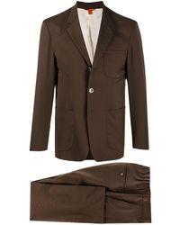 Barena シングルスーツ - ブラウン