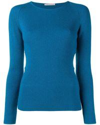 Emilia Wickstead Side Cut Out Sweater - Blue