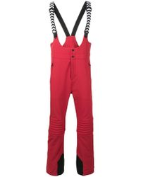 Perfect Moment Racing Ski Trousers - Red