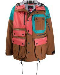 White Mountaineering X Colmar Age フィールドジャケット - ブラウン