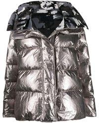 Juun.J Padded Style Metallic Jacket